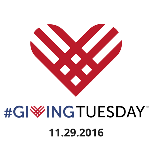 Giving Tuesday logo with date
